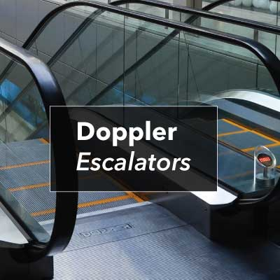 Doppler Escalators